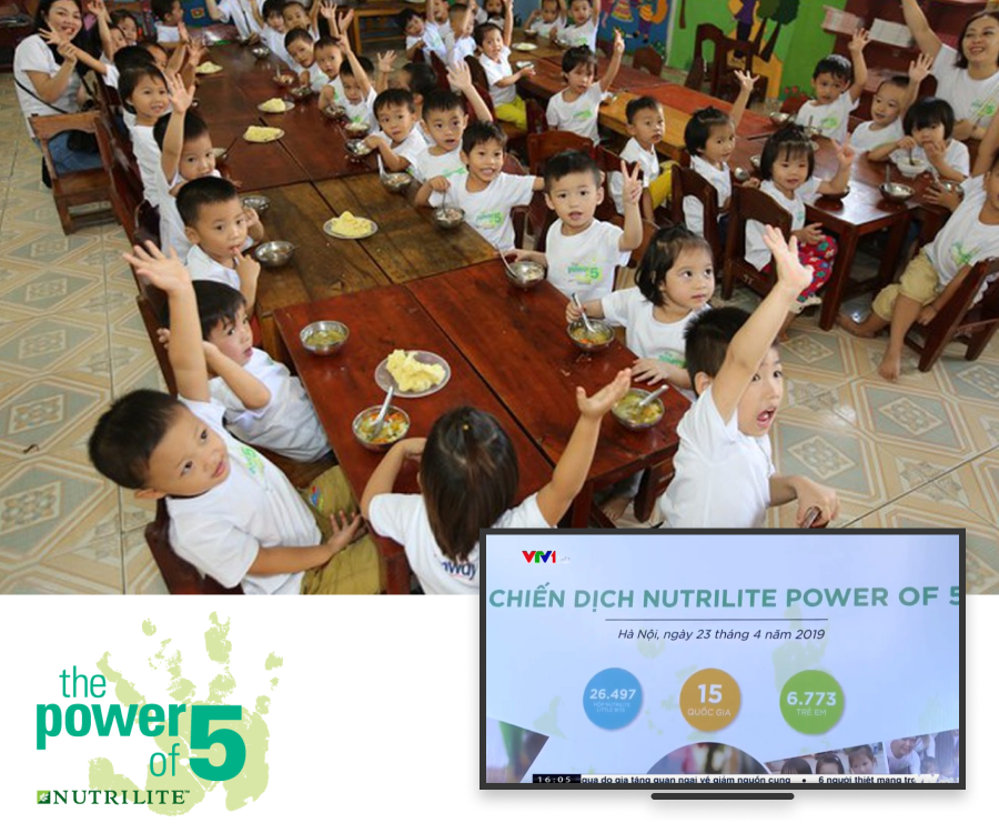 NUTRILITE POWER OF 5 2019