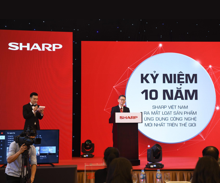 SHARP PRESS CONFERENCE