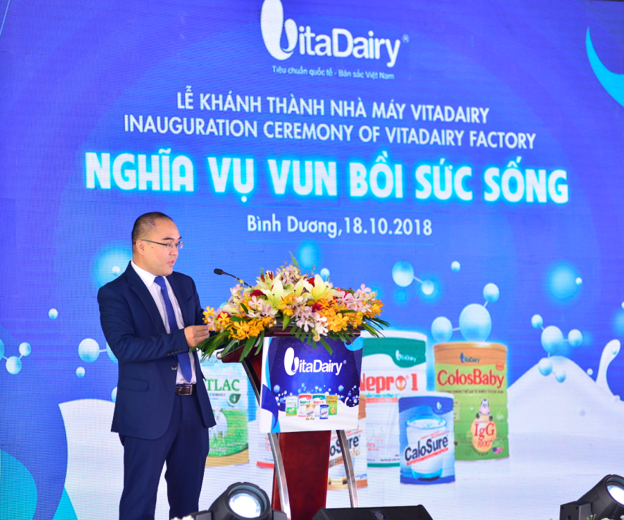 INAUGURATION CEREMONY OF VITADAIRY FACTORY